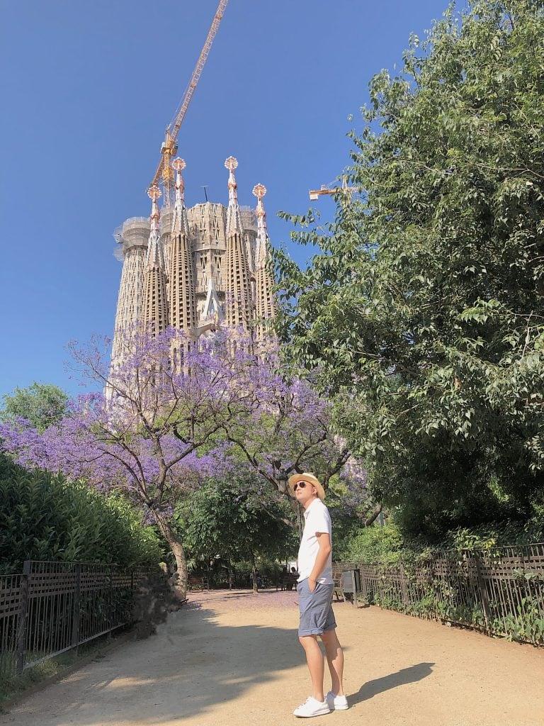 圣家教堂 巴塞罗那旅游叶雅各