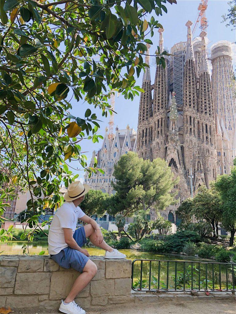 巴塞罗那旅游 圣家诞生面